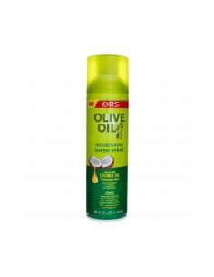 SPRAY OLIVE OIL SHEEN...