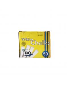 TIZA FIXO WHITE CHALKS 50/1...